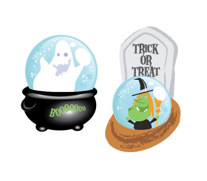 Halloween Globes
